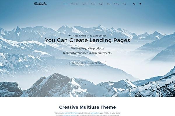 plantillas y themes de Bootstrap para WordPress