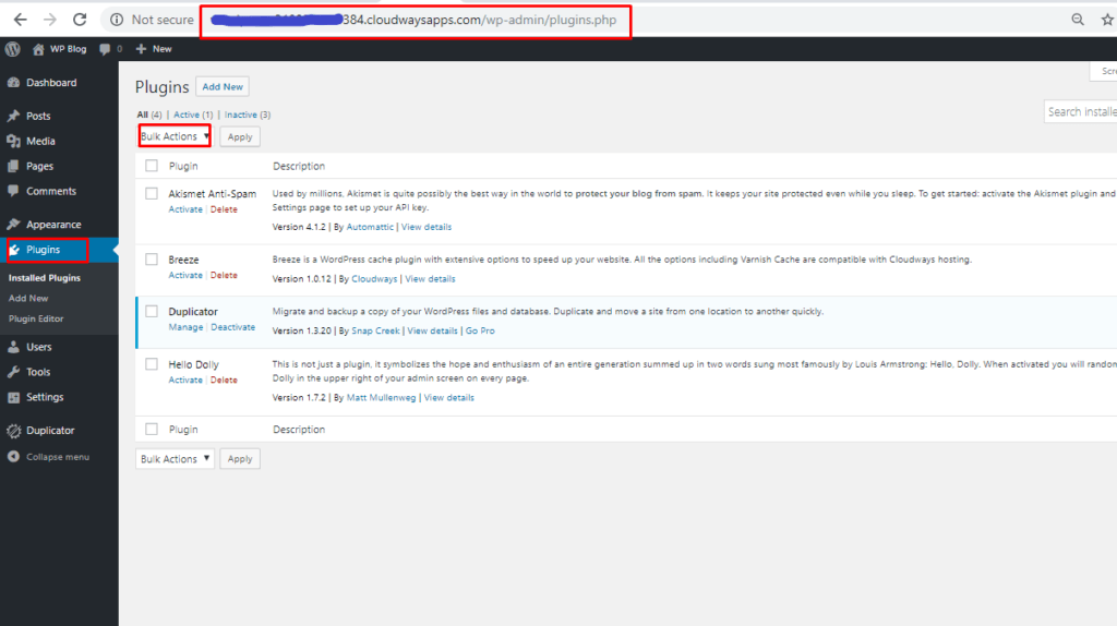 wordpress bulk action plugins