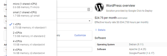 como instalar wordpress en google cloud