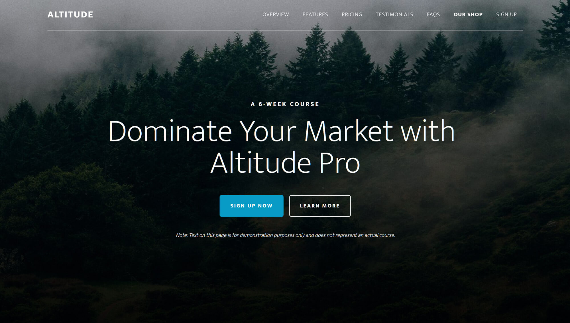 Altitude Pro WordPress Theme
