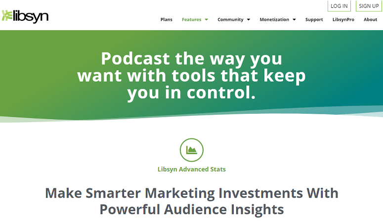 podcast hosting, libsyn