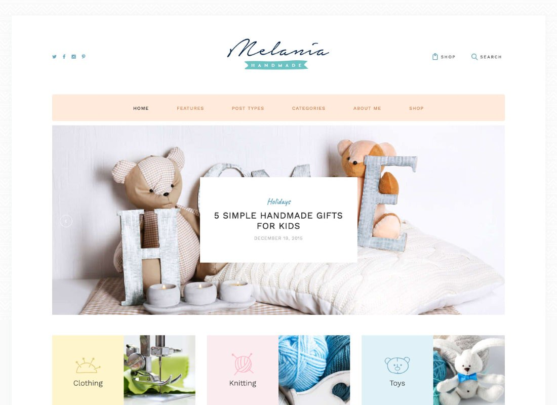 plantillas themes temas wordpress para costura