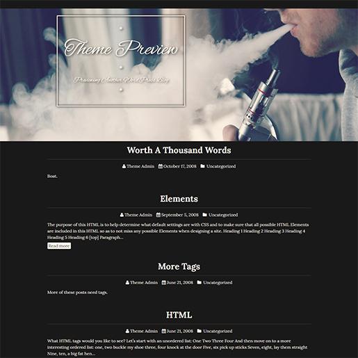 Retro WordPress Theme - Siggen
