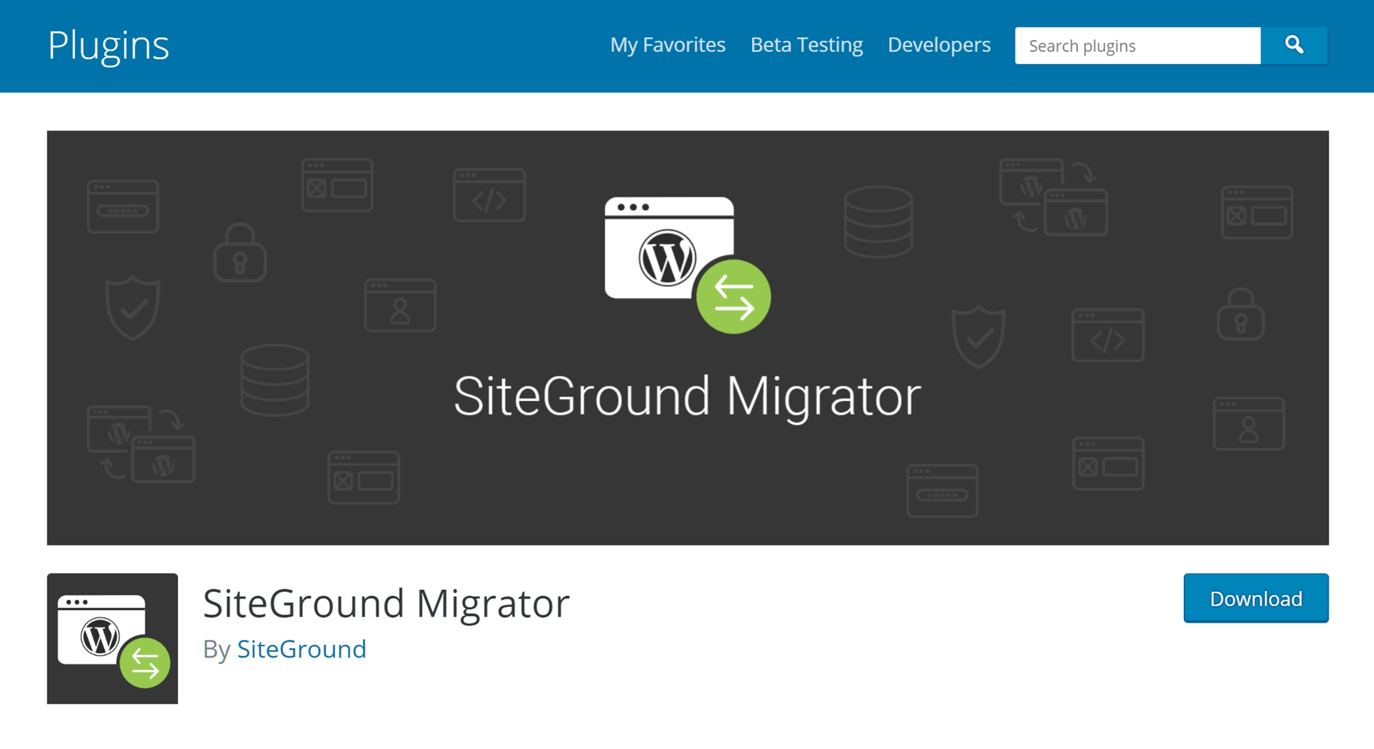 WordPress Website Migrator Plugin