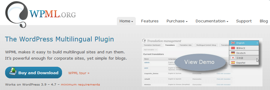 WPML - Create a Multilingual WordPress Site