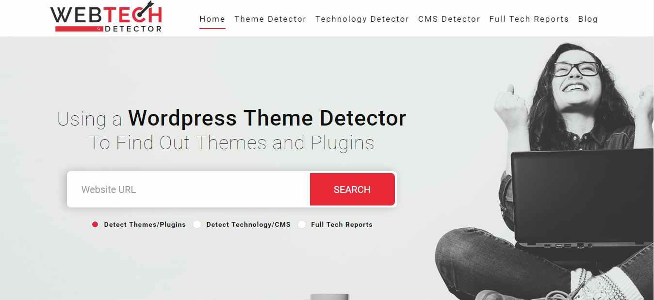 Web Tech Detector