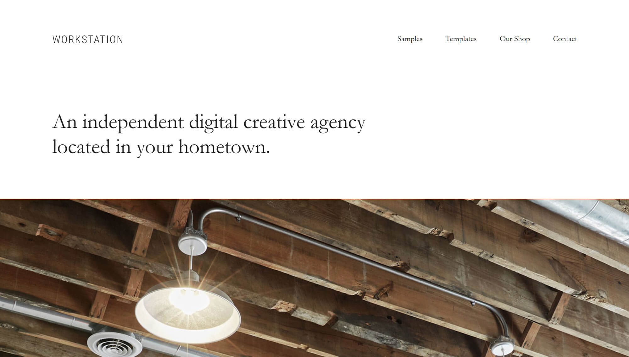 Workstation Pro Agency Theme