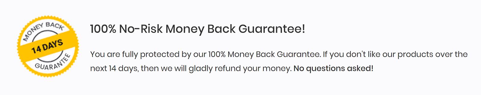 Astra Pro Money Back Guarantee