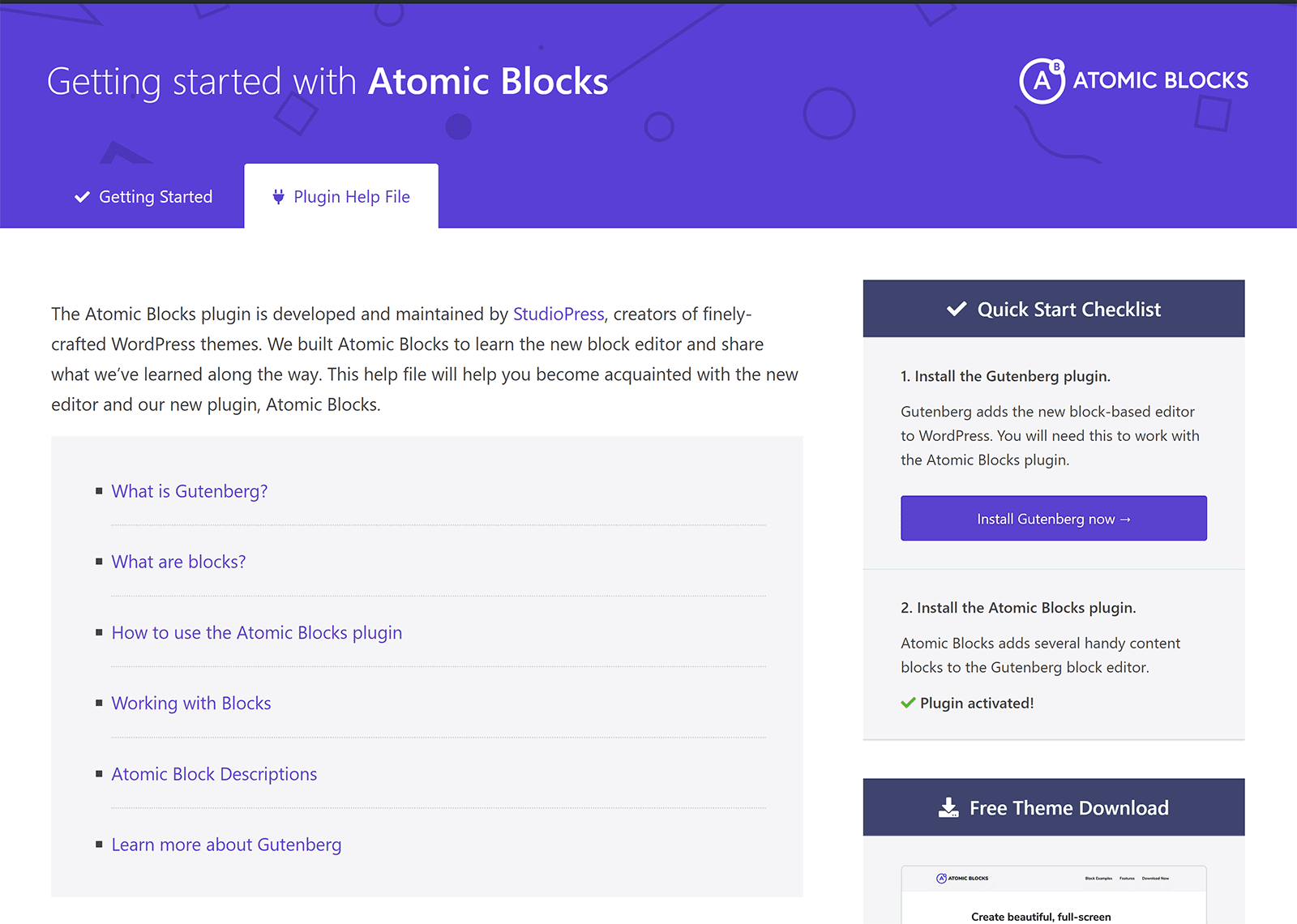 Getting Started with Atomic Blocks