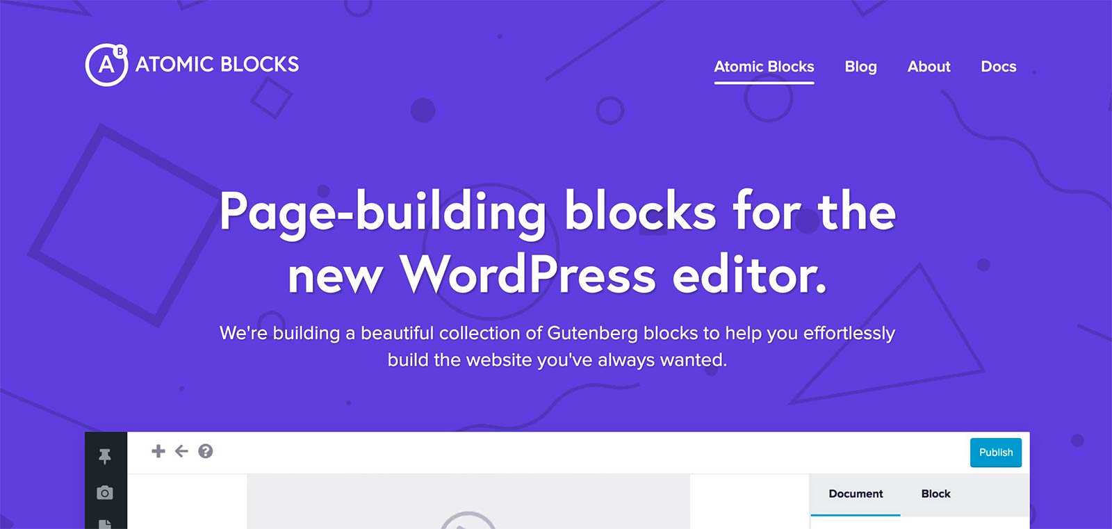 Atomic Blocks WordPress Plugin