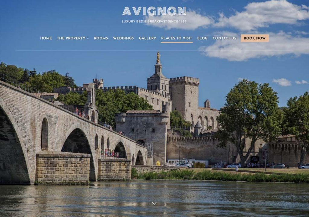 Avignon est un template d'Hermes Themes