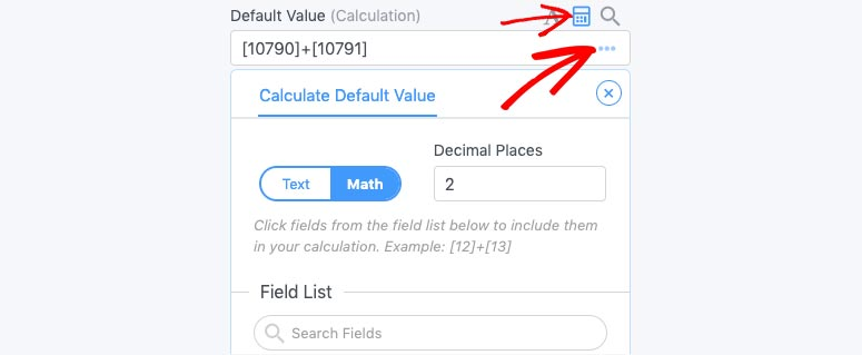 Default value