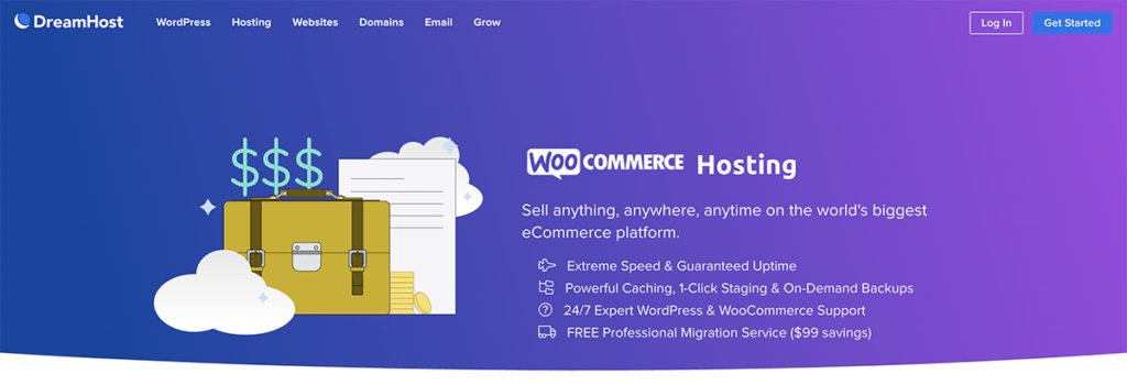 DreamHost WooCommerce Hosting