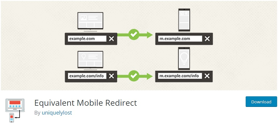 equivalent-mobile-redirect-wordpress-redirect-plugins