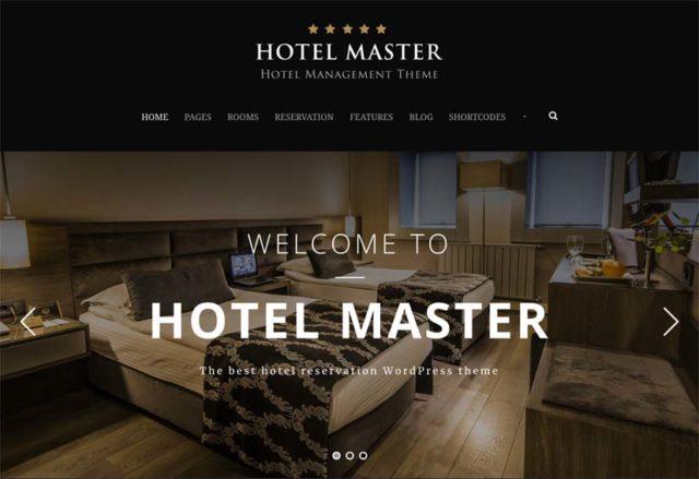 Le thème Hotel Master