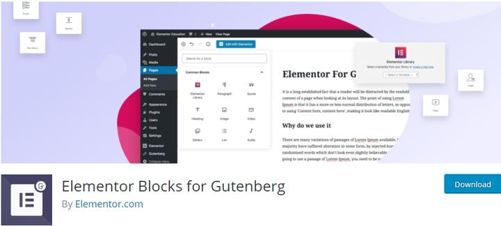 WordPress content blocks