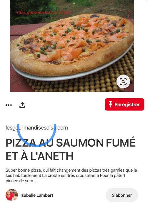 Recette de pizza sans rich pins