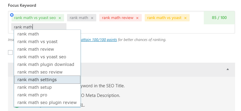 rank-math-focus-keyword-review