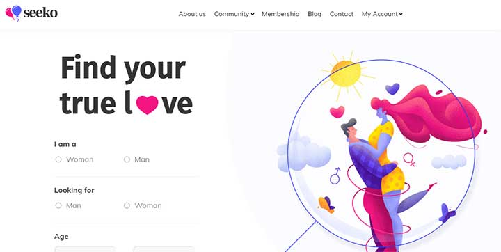 Seeko WordPress Dating Themes