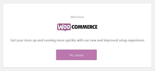 Setup Wizard WooCommerce